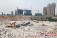 克磊镘移动式设备在深圳高效加工花岗岩