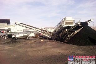 全新的组合,更高的效益 ——特雷克斯南方路机CSW1060J+683应用于煤炭破碎筛分