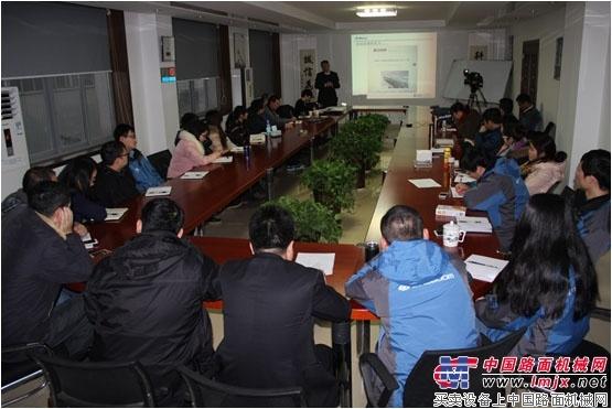 星邦重工举行国际化实战业务培训