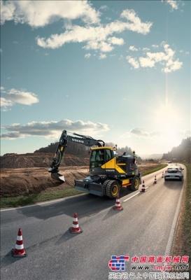 沃尔沃EWR150E——行业领先的多功能高效之作
