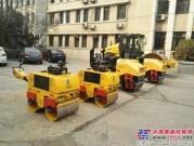 国机重工洛阳公司小型压路机批量交付军方!