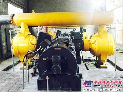 柳工压缩机再传捷报煤压机产品顺利交付