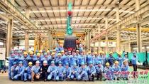 热烈庆祝石川岛135NS成功下线