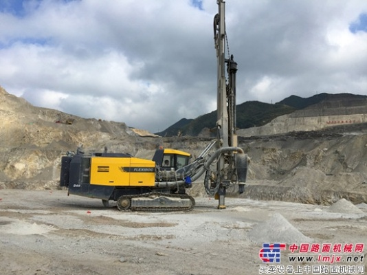 阿特拉斯·科普柯FlexiROC D65在瓮福磷矿再立新功