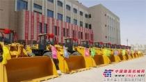 山工机械助力青岛龙海路桥集团吉尔吉斯斯坦项目顺利交机