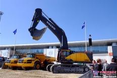 沃尔沃EC950E大型履带挖掘机