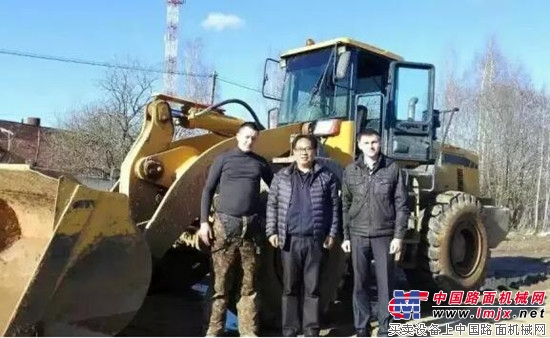 常州经贸代表团走访常林股份俄罗斯用户 成工股份李一东董事长一