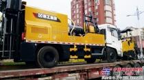 徐工养护旗舰XLY100TB实现首次销售