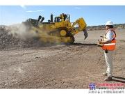 卡特彼勒远程控制推土技术助力矿业客户实现安全操作