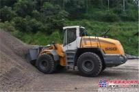 利勃海尔L550装载机在水泥行业的成功应用