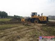 常林成功试制国内最大功率轮式推土机