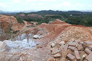 玉林陆川采石场
