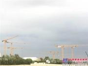 波坦塔机MCT205在迪拜帮助建造奢华度假住宅项目