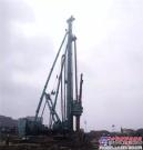 上海金泰SZ80-35全套管钻机青田试桩 优势显著 成效非凡