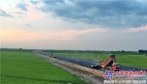 造精品工程,促经济发展:长城摊铺机全线参建嫩丹高速二期工程