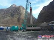 143.8米,全球最新全套管全回转钻机施工最深记录