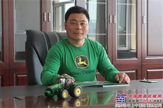 约翰迪尔服务中国40年用户故事之十:靳学军 耕耘在蒙东沃土的