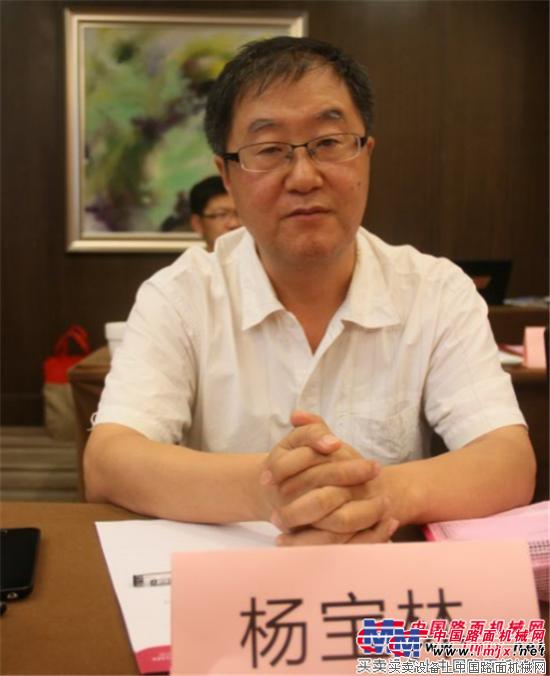 江苏华通动力重工有限公司总工程师杨宝林