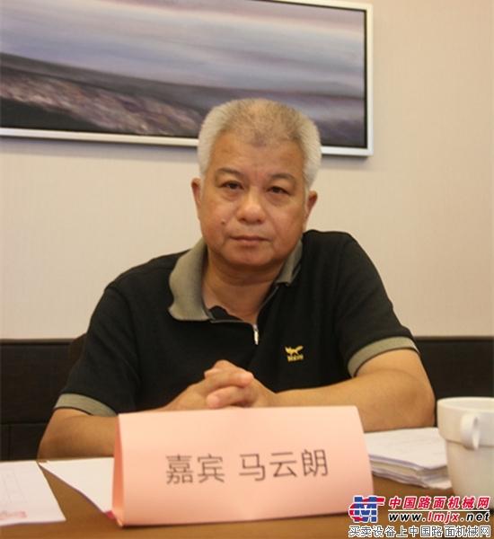 上海市政浦盛沥青混凝土有限公司总经理马云朗