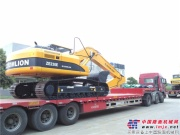 中联重科土方设备掘进印尼市场