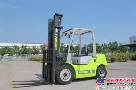 中联重科Z系列内燃叉车产品升级上市