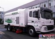 宇通17吨纯电动洗扫车——承载能力更强的洗扫车