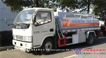 东风蓝牌供液车可以进市区的罐式车