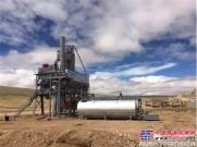 西筑公司西藏第三套搅拌设备顺利完成安装