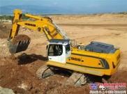 继承与发展--利勃海尔新一代R966履带式液压挖掘机