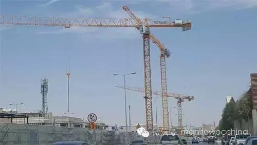 28台波坦塔机帮助建设中东最大的地铁项目