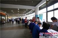 龙工组织员工参加上海市无偿献血活动