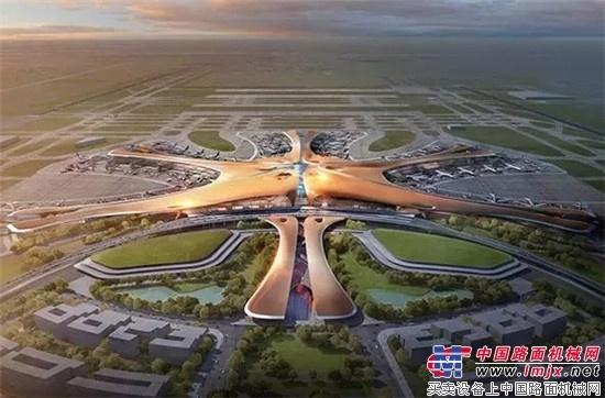 利勃海尔搅拌站助力北京新机场