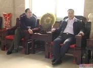 黑龙江克东县县长刘卫东来访恒特重工