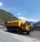 国机洛阳公司自主研发的工程用洒水车顺利发车