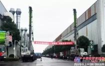 中联重科超5000万元汽车吊二手设备交付沙特