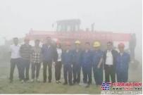 再传喜讯!徐工大马力平地机国内首次征战大型铜矿山建设