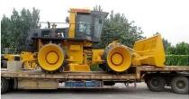 山推大吨位国Ⅲ机械垃圾压实机首次销往海外