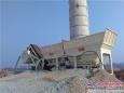 支援国道工程建设恒兴稳定土拌合站落成投产
