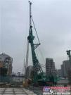 上海金泰SX40-A新型双轮铣福州地铁首战告捷 有效解决大直径密实卵石层施工难题