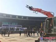 晋工亮相2016中国甘蔗机械化博览会