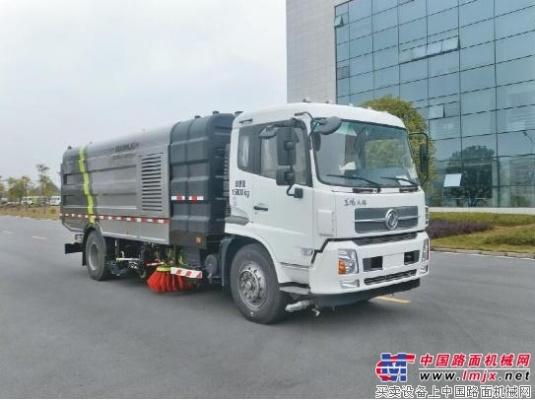 中联重科全新推出大型污水循环洗扫车 再掀智能绿色革命