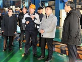 市委书记王蒙徽 代市长姜有为到北方重工公司调研