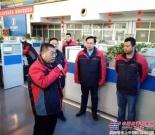 陕汽控股董事长袁宏明一行慰问节日期间坚守岗位的营销将士