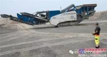 克磊镘移动式设备在淄博市采石场的应用