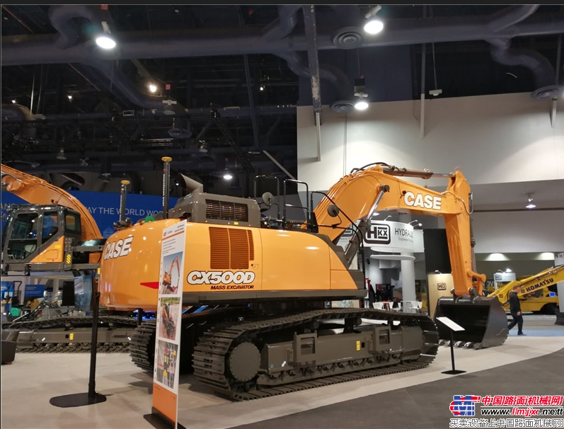 凱斯CX500D挖掘機