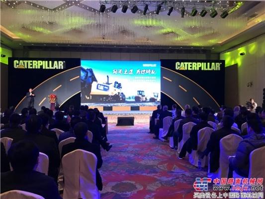 卡特彼勒:开启中国路面机械市场新征程