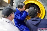 柳工工程师精准排除故障 客户高度评价