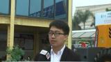 【厦门石材展】中国路面机械专访威盛机械总经理助理萧清圳、喻雷平