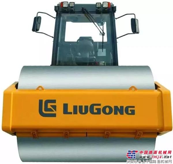 柳工CLG6630E压路机 超强压实 绿色节能