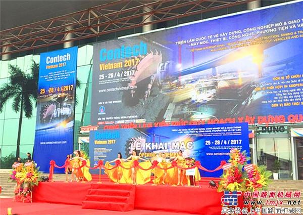 """借助""""一带一路"""" 长沙盛泓精装亮相2017越南建筑工程、矿山展"""